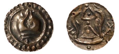 เหรียญรูปหอยสังข์