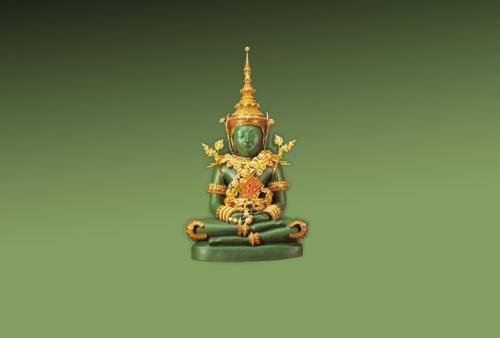 คติความเชื่อเกี่ยวกับการสร้างเครื่องทรงของพระพุทธรูป
